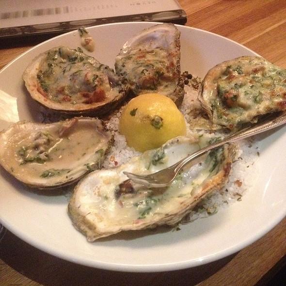 Oysters Rockefeller @ Devon Seafood Grill
