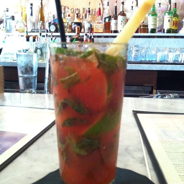 Strawberry Mojito - Jorge's Tex Mex Cafe, Dallas, TX
