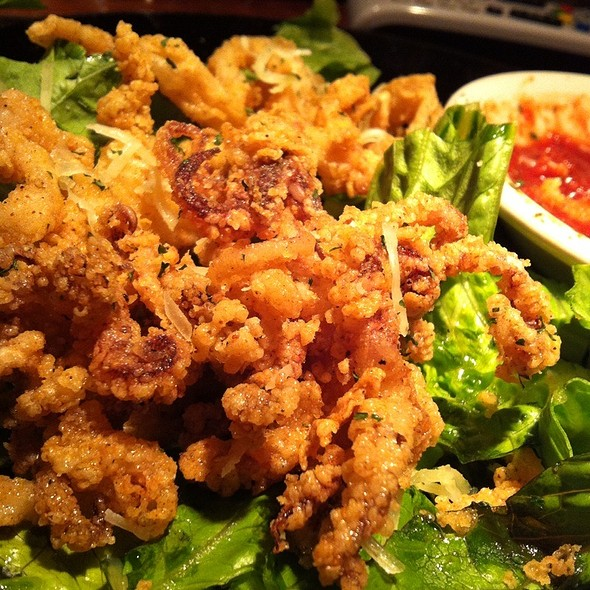 Crispy Calamari @ Demuros Top of the Hill Restaurant