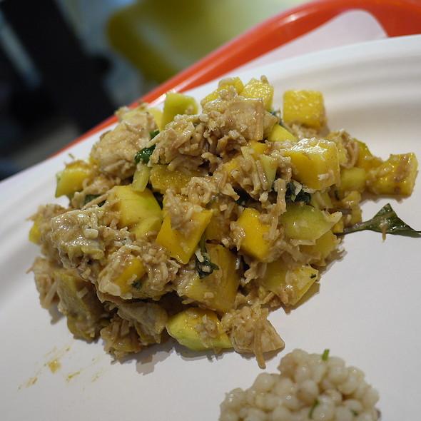 Tandoori Chicken, Green Mango, Coconut
