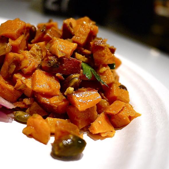Sweet Potatoes and Pistachio