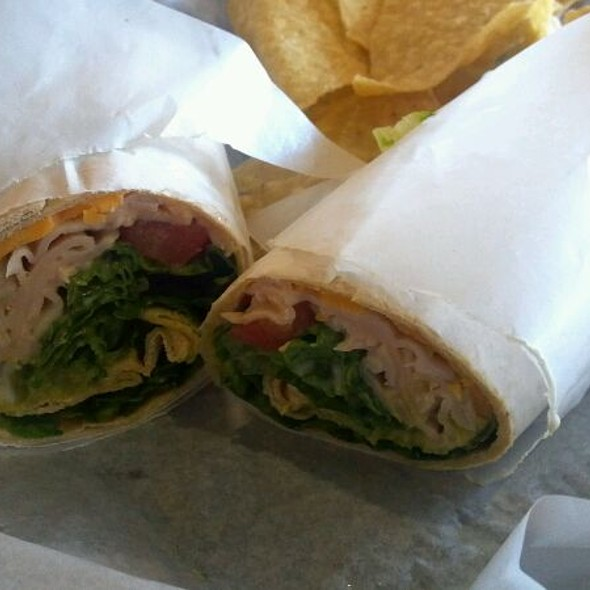 Turkey Guacamole Wrap @ Sweet Bay Coffee Co