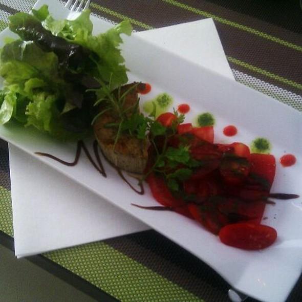 Papeton D'aubergines Et Tomates Du Jardin @ Le Bocage