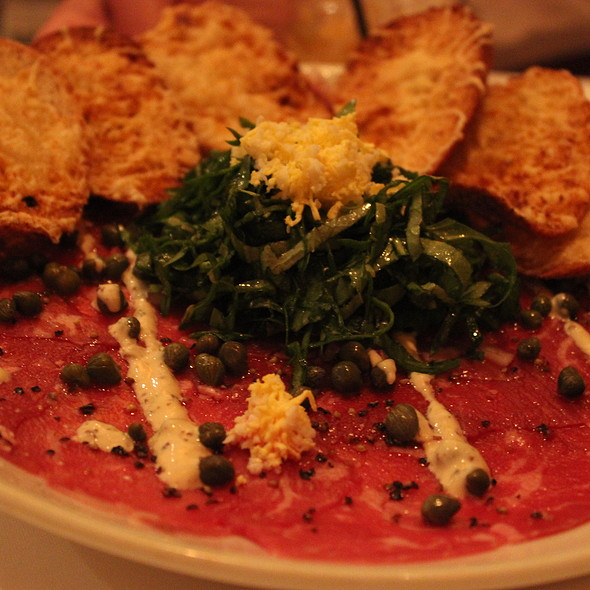 Beef Carpaccio - Fleming's Steakhouse - Newport Beach