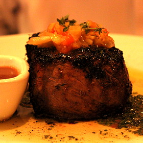 Prime New York Strip Steak - Fleming's Steakhouse - Newport Beach