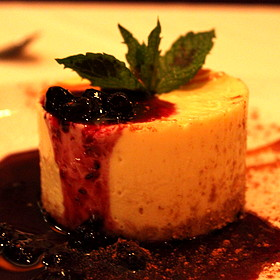 Cheesecake - Fleming's Steakhouse - Newport Beach