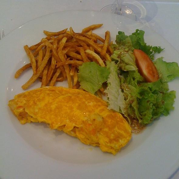 Omolete De Gambas @ Restaurante Centenário