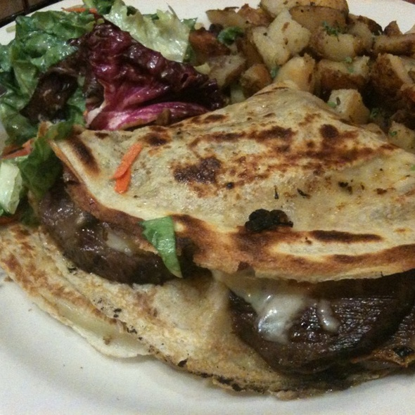 Philly Cheesesteak Crepe @ Crepevine