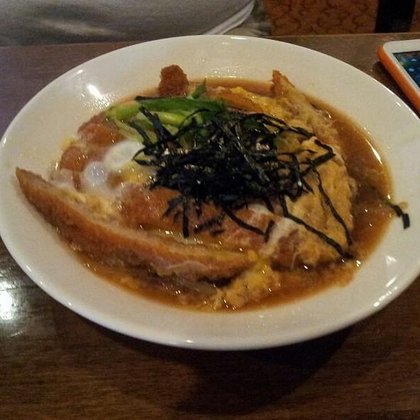 Katsudon - Ginko Japanese Restaurant, Toronto, ON