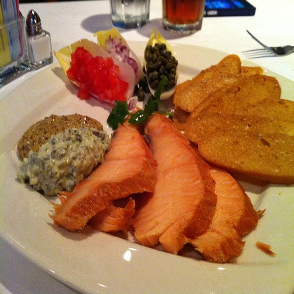 Metro Smoked Salmon - The Metro Wine Bar & Bistro, Oklahoma City, OK