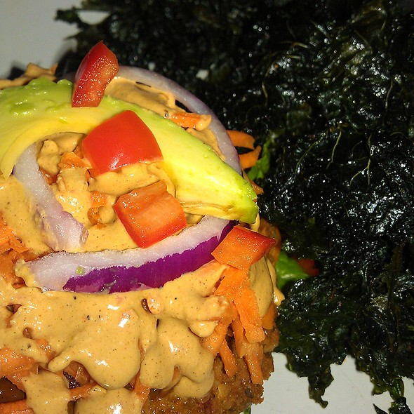 Nut-Free Raw Vegan Burger