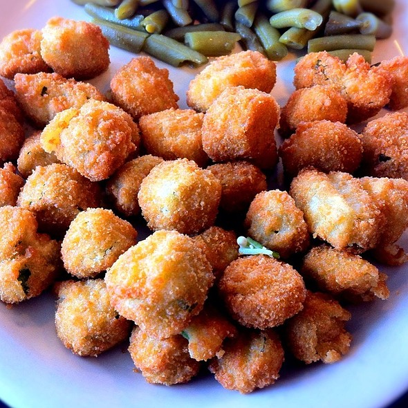 Fried Okra @ Lulu's Bakery & Cafe