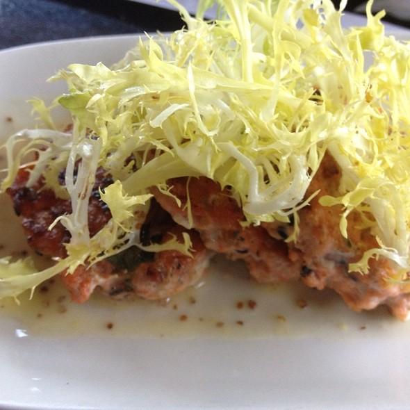 Seared Sesame Salmon Cakes - Portland City Grill, Portland, OR