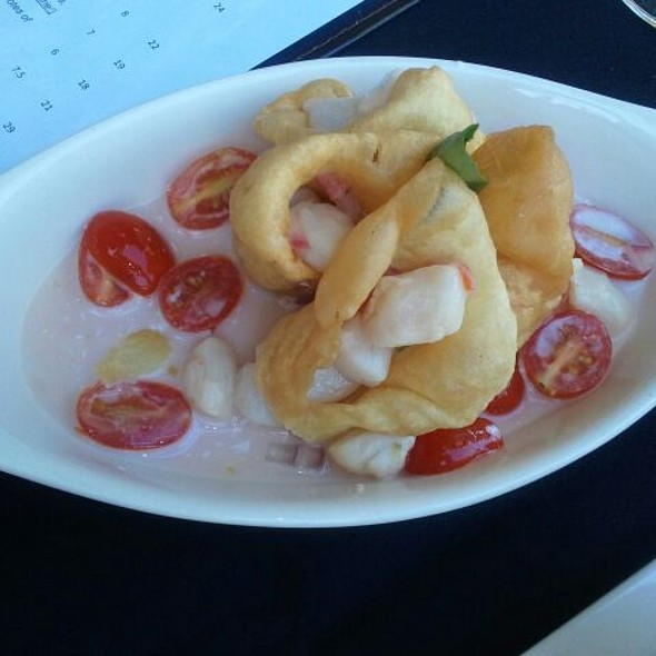 Scallop Ceviche @ The Compass Star