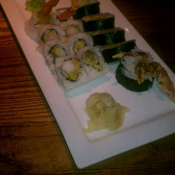 Shrimp Tempura  And Soft Shelled Crab Sushi - Kona Grill - Omaha, Omaha, NE
