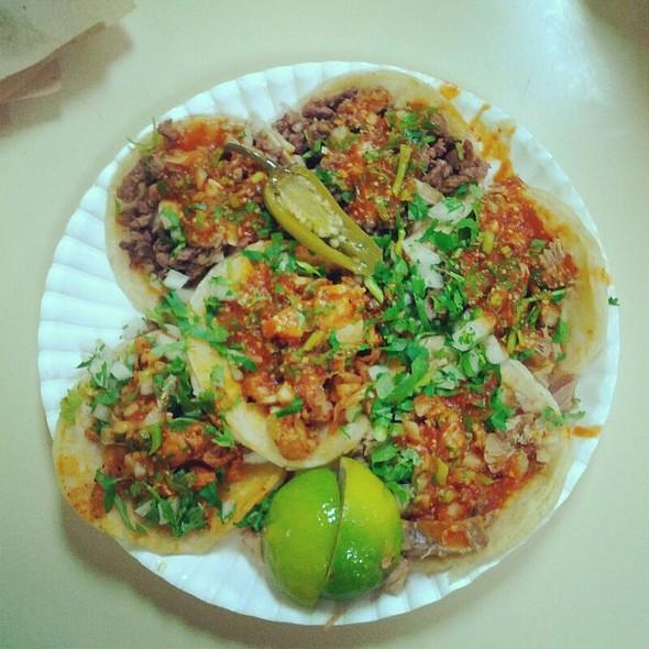 Tacos- Carne Asada, Carnitas, & Chicken