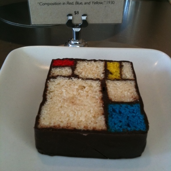 Mondrian Cake @ San Francisco Museum of Modern Art