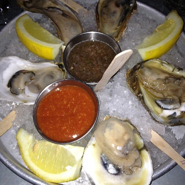 Assorted Oysters - Blue Point Grill, Princeton, NJ