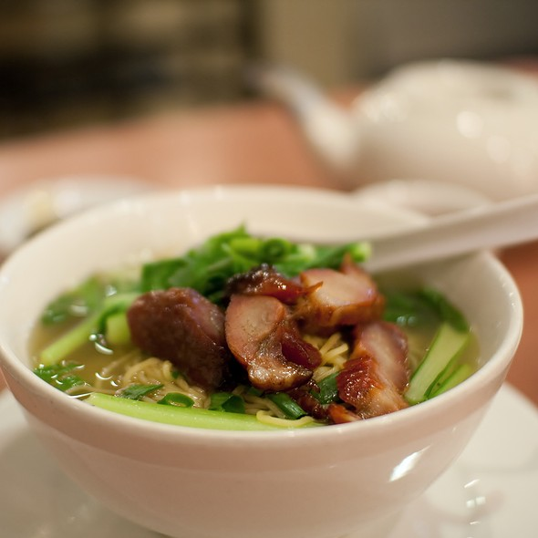 Char Siu with Noodle Soup @ Chatswood BBQ & Hotpot