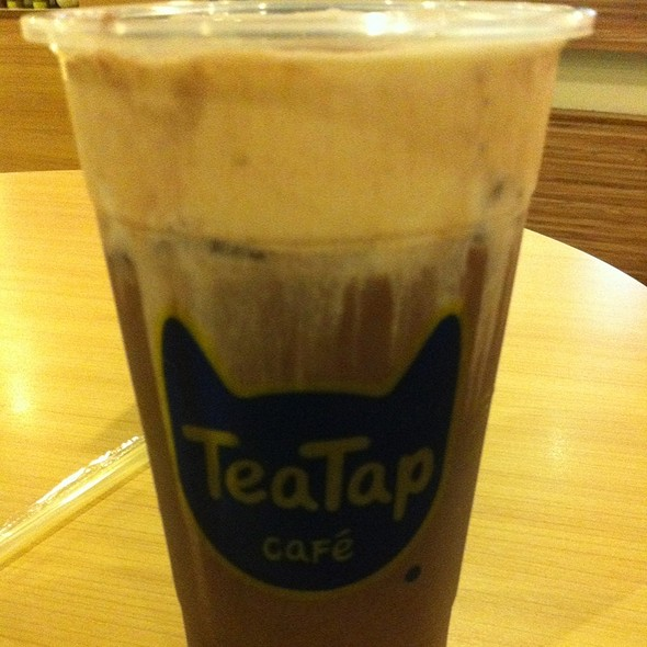 Chocolate Mousse Milk Tea @ TeaTap Cafe
