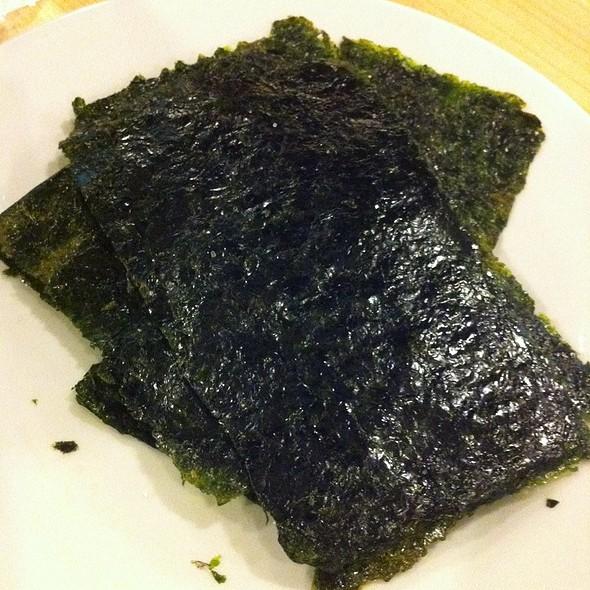 Salted Seaweed Chips @ TeaTap Cafe