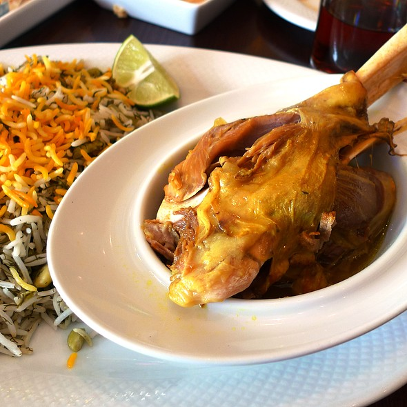 BAGHALI POLOW MAHICHEH - Yekta Kabobi Restaurant, Rockville, MD