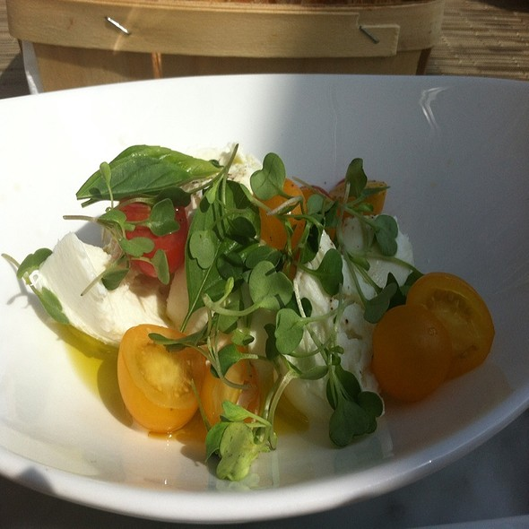 Local Tomato Buffalo Mozzarella Salad - Jedediah Hawkins, Jamesport, NY