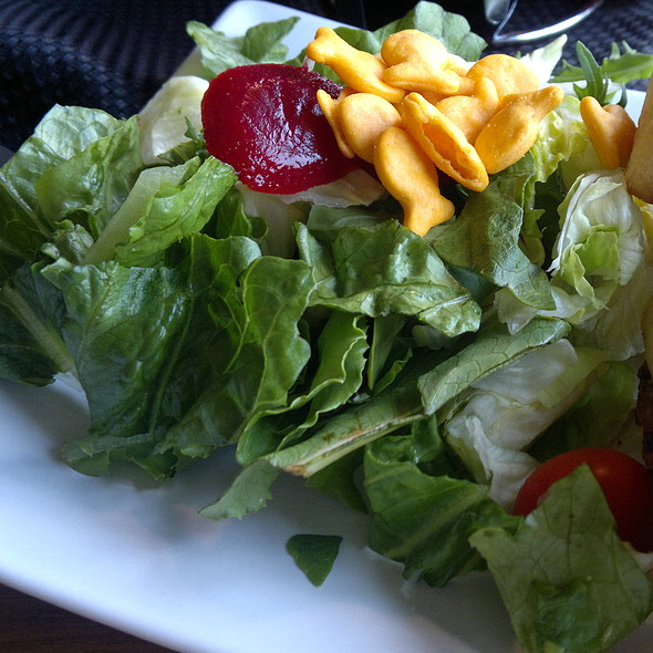 Side Salad @ Sandy's Waffle & Dinner Haus
