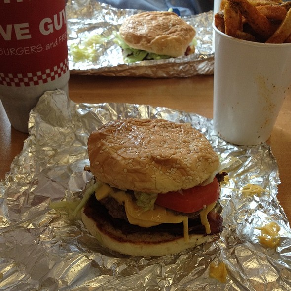 Little Bacon Cheeseburger @ Five Guys Bloomington