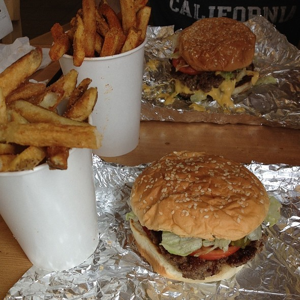 Little Hamburger and Fries @ Five Guys Burgers And Fries
