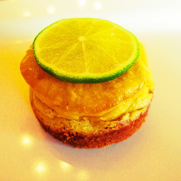 Key Lime Mini Cheesecakes @ @Home