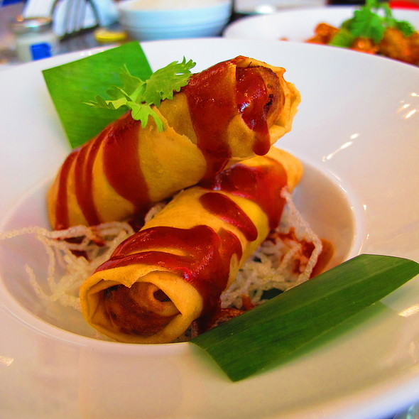 Duck Spring Roll @ Galleries Lafayette Gourmet