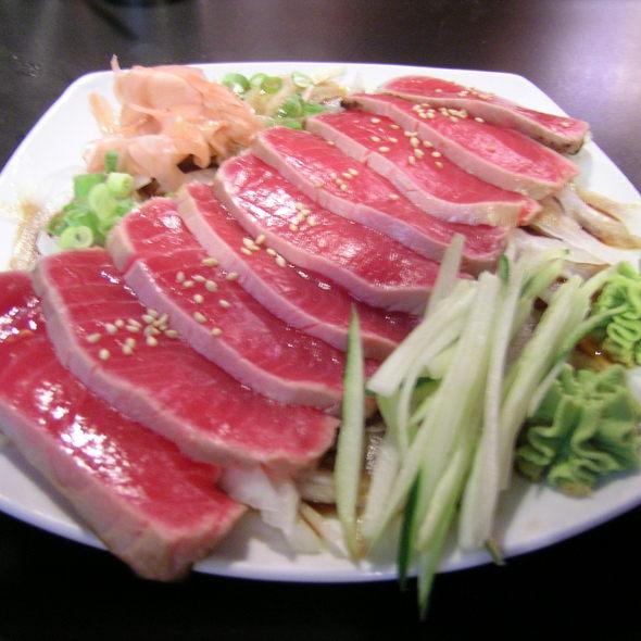 Tuna tataki @ Kanpai of Tokyo