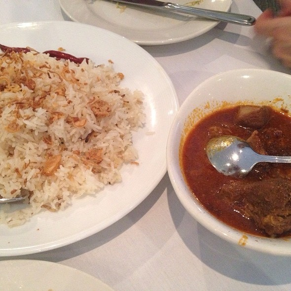 Coconut Rice And Lamb