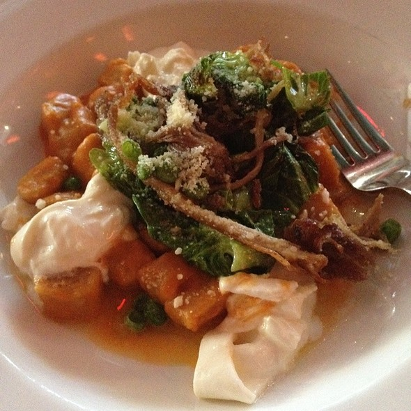 Butternut Squash Gnocchi @ Thalia Restaurant