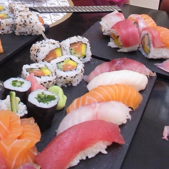 Sushi Sashimi @ Sushi Café Amoreiras