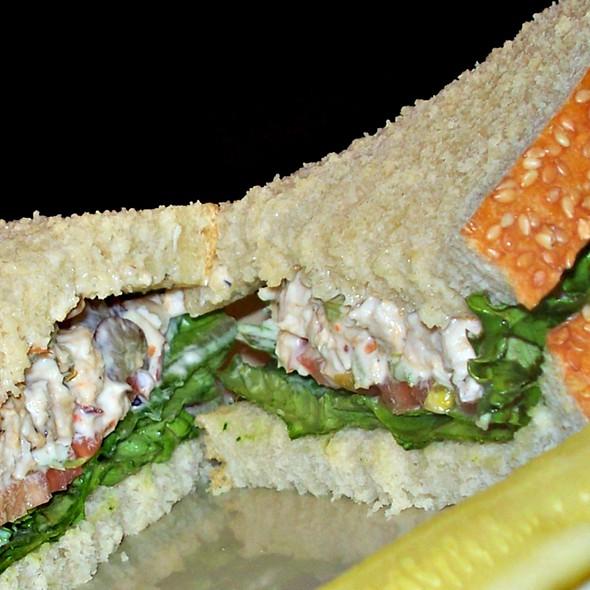Napa Almond chicken Salad Sandwich @ Panera Bread