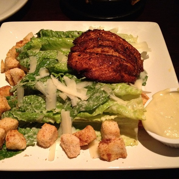 Salmon Ceasar Salad - Carson's Prime Steaks & Famous Barbecue - Chicago, Chicago, IL