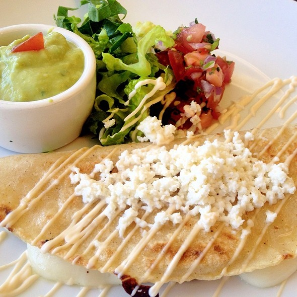 Cheese & Epazote Quesadilla @ El Aguila Taqueria