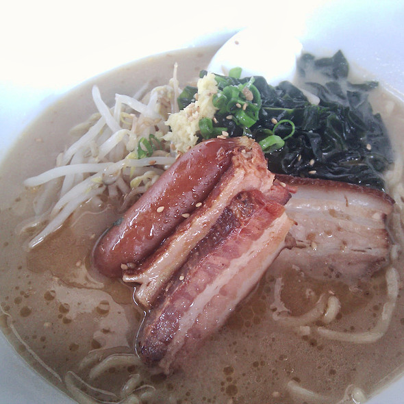 Pork Belly Ramen @ Lucky Belly