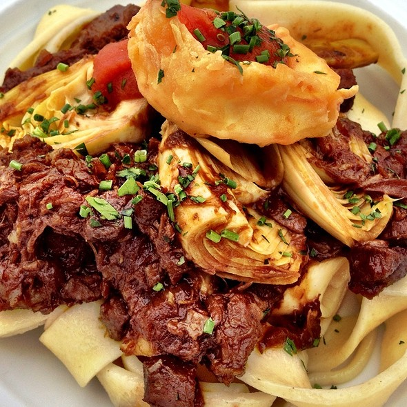 Pappardelle with lamb ragout