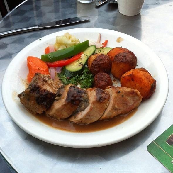 Stuffed Roast Pork @ The Fireside