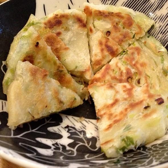 Scallion Pancakes @ My Mom's House