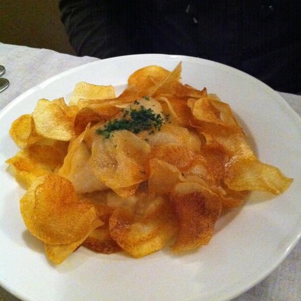 Brandade de Celeri et Merlu, Chips de Pomme de Terre
