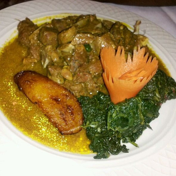 Jamaican Curry Goat @ The Door