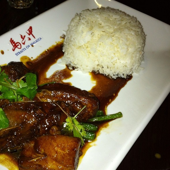 Malacca Grilled Pork Rib On Rice