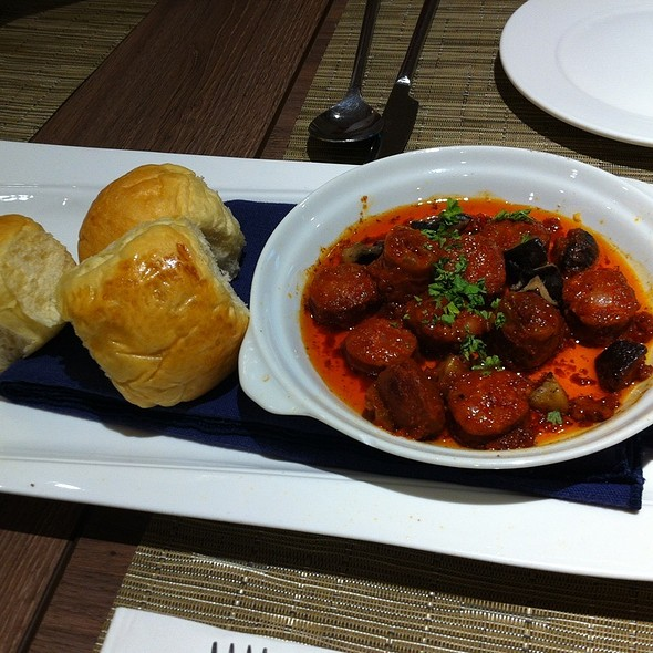 Chorizos and Mushrooms @ Tito Chef Restaurant and All Things Culinary