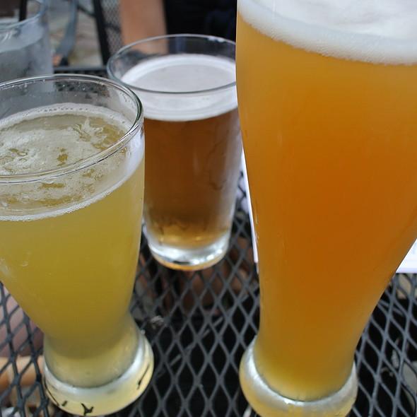 Beer Flight - Market Garden Brewery, Cleveland, OH