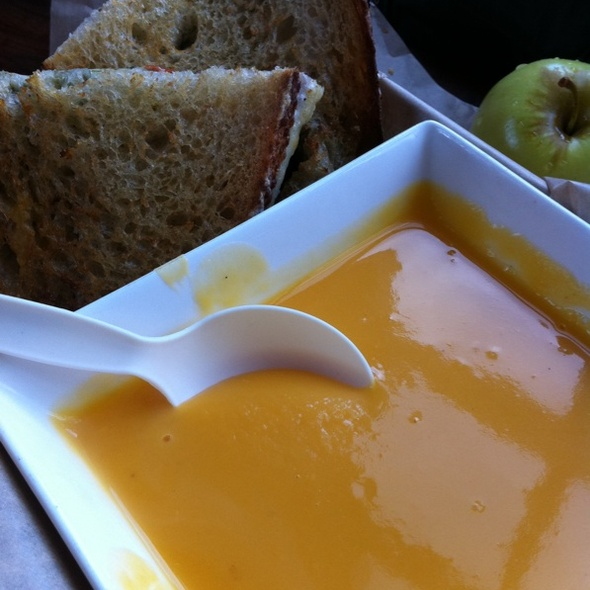 Butternut Squash Soup @ The American Grilled Cheese Kitchen