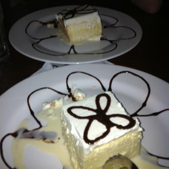 Tres Leche Cake @ Alero Restaurant